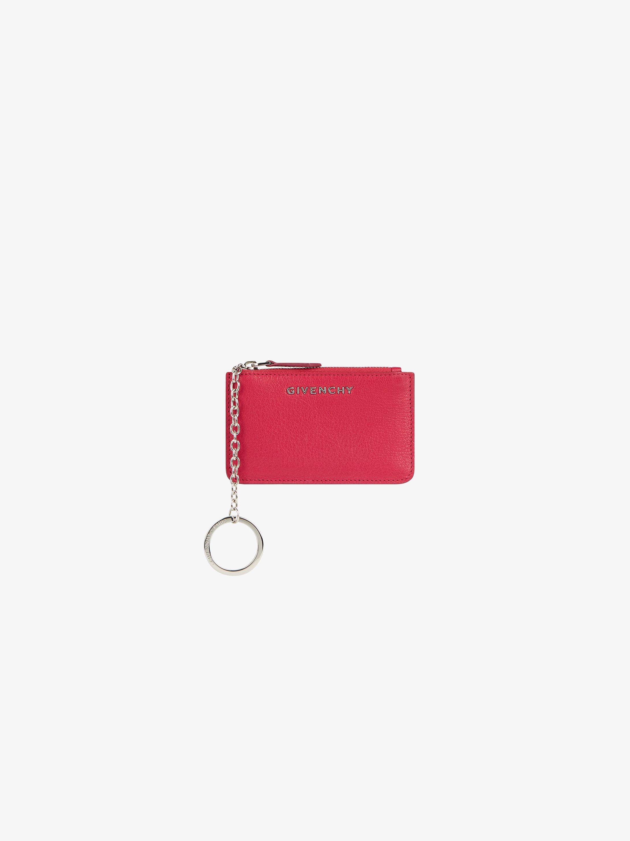 Pandora zipped  key-holder