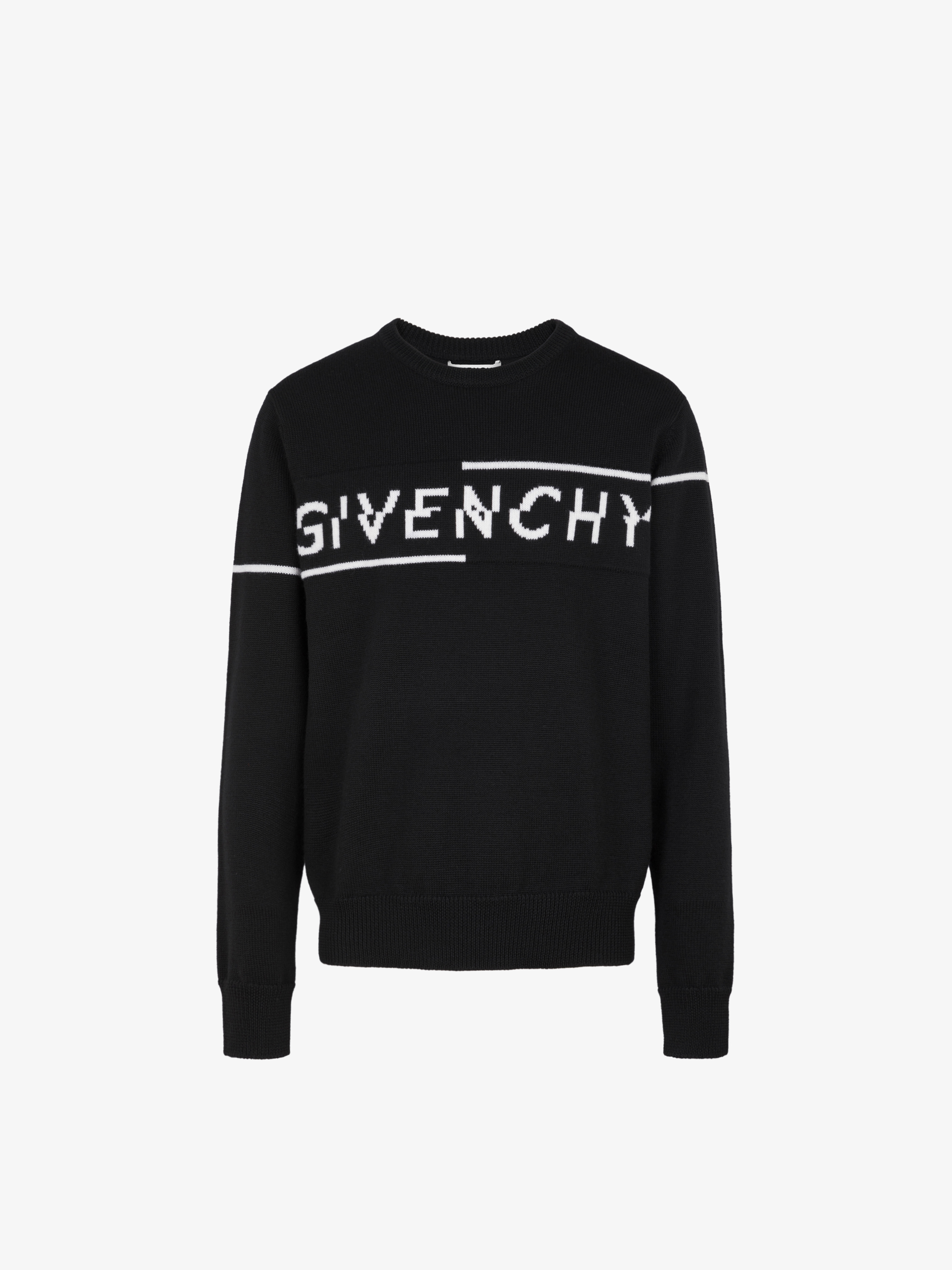 GIVENCHY SPLIT sweater in jersey