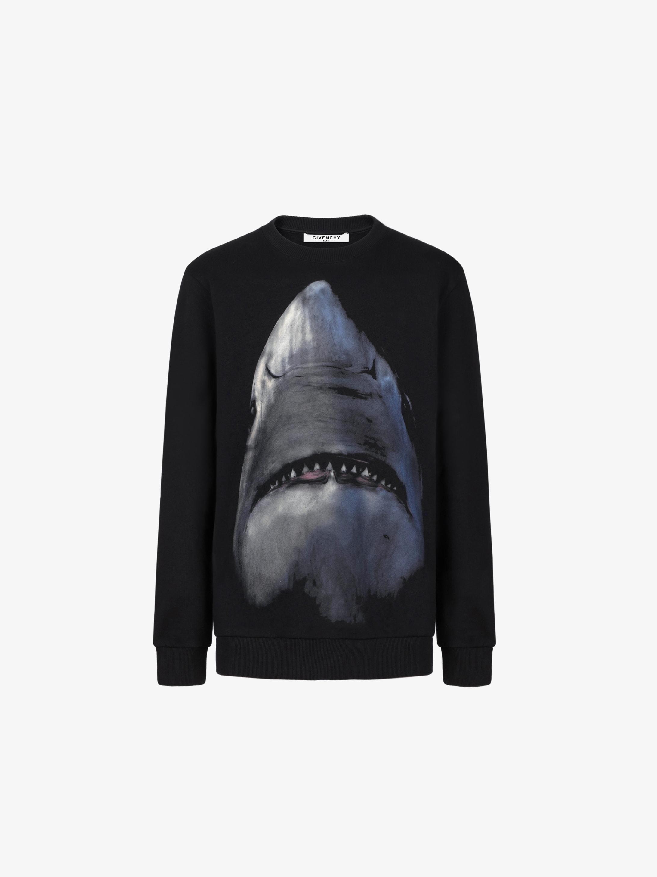 Shark printed sweatshirt
