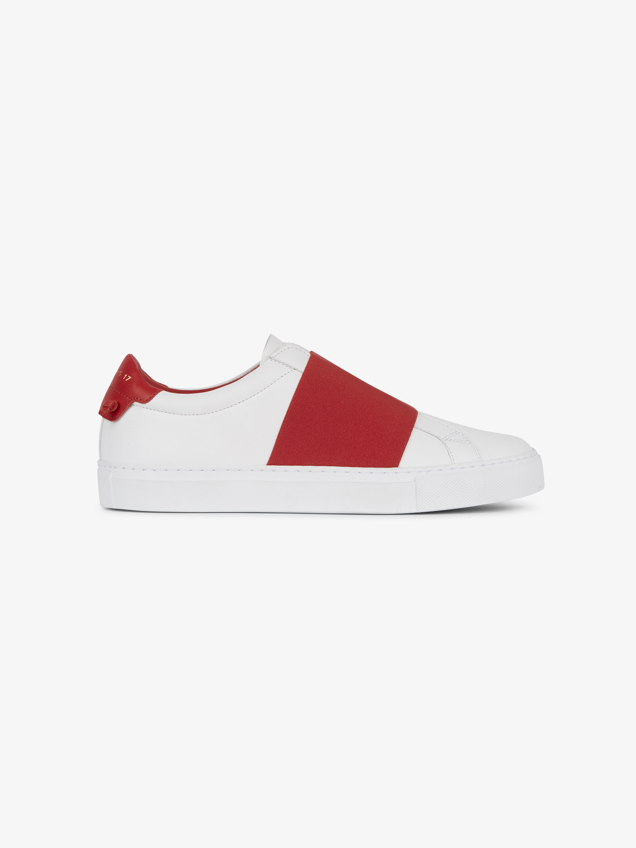 Urban Street  elastic strap sneakers in leather