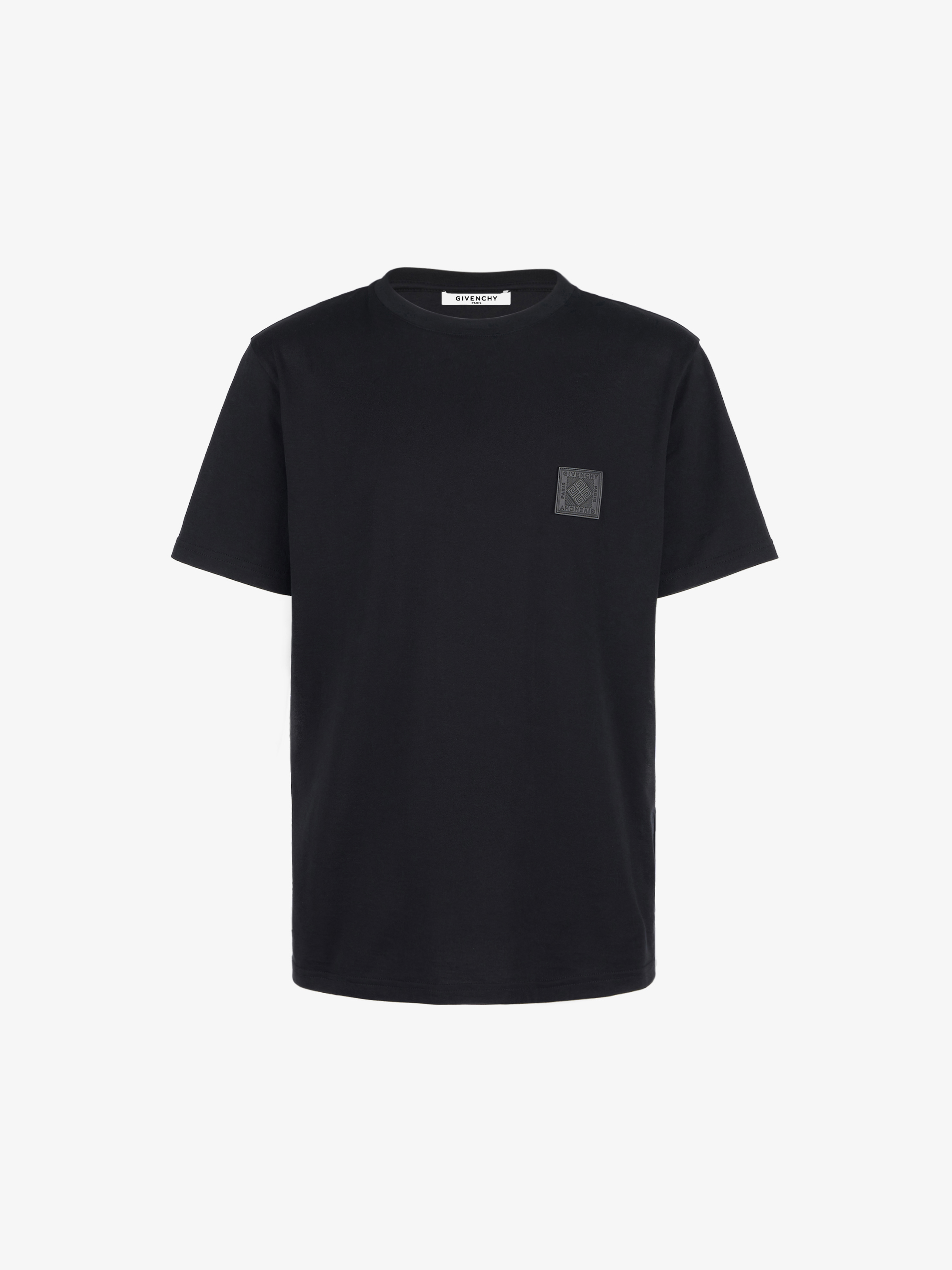 GIVENCHY 4G patch slim fit T-shirt