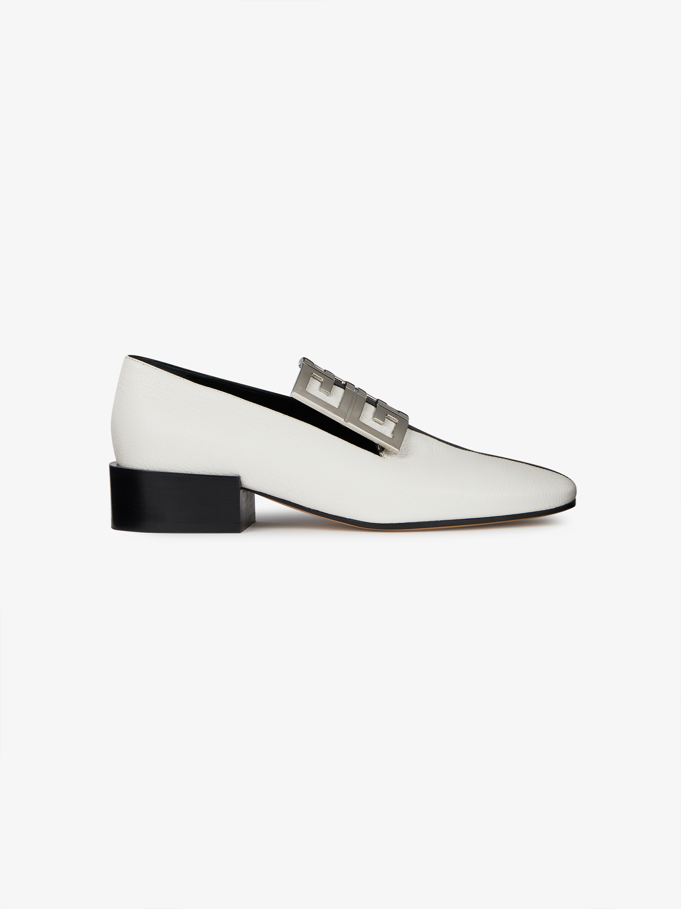 Two-tone 4G loafers