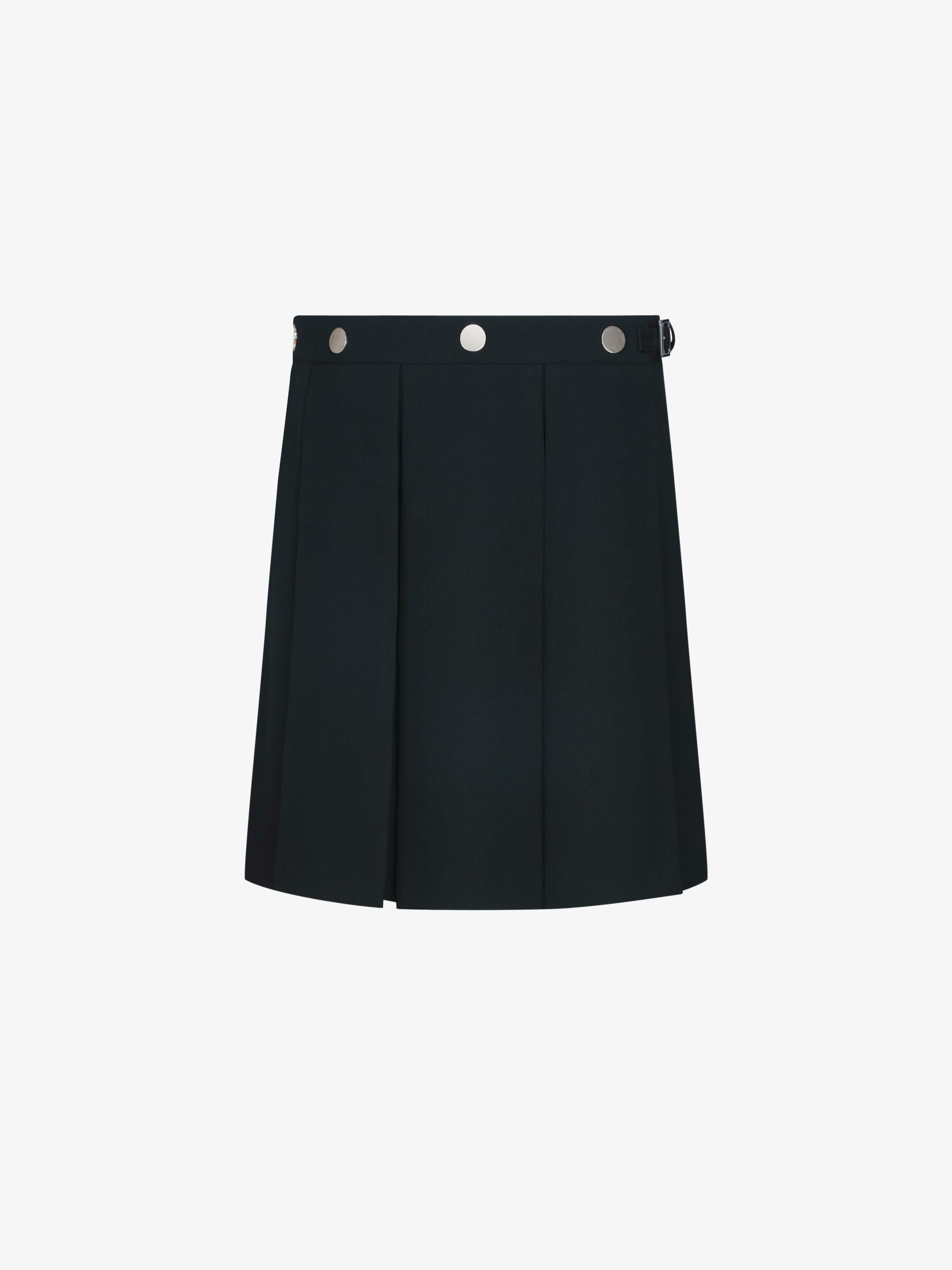Kilt skirt in barathea