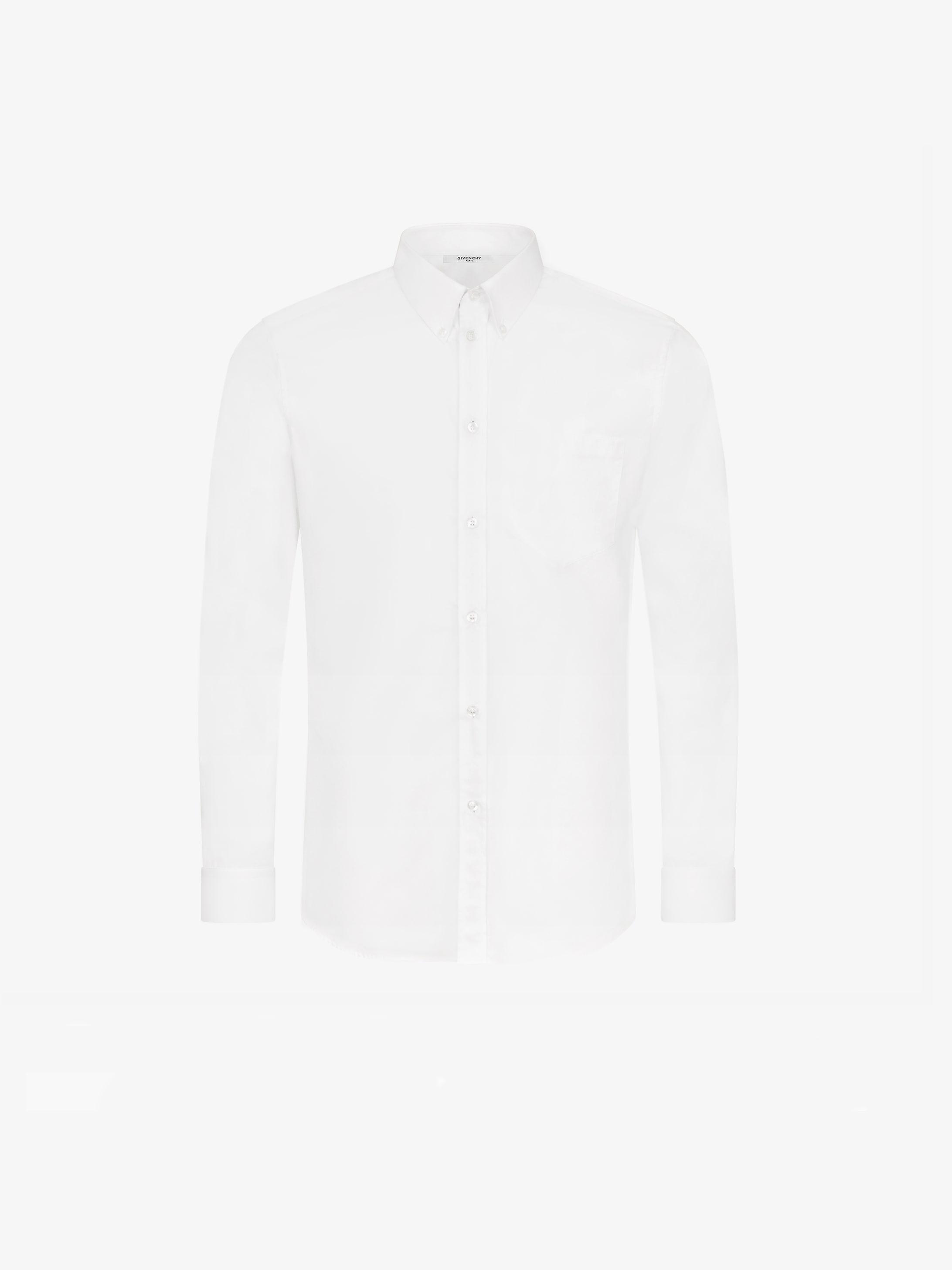 Contrasting buttonstrip  shirt