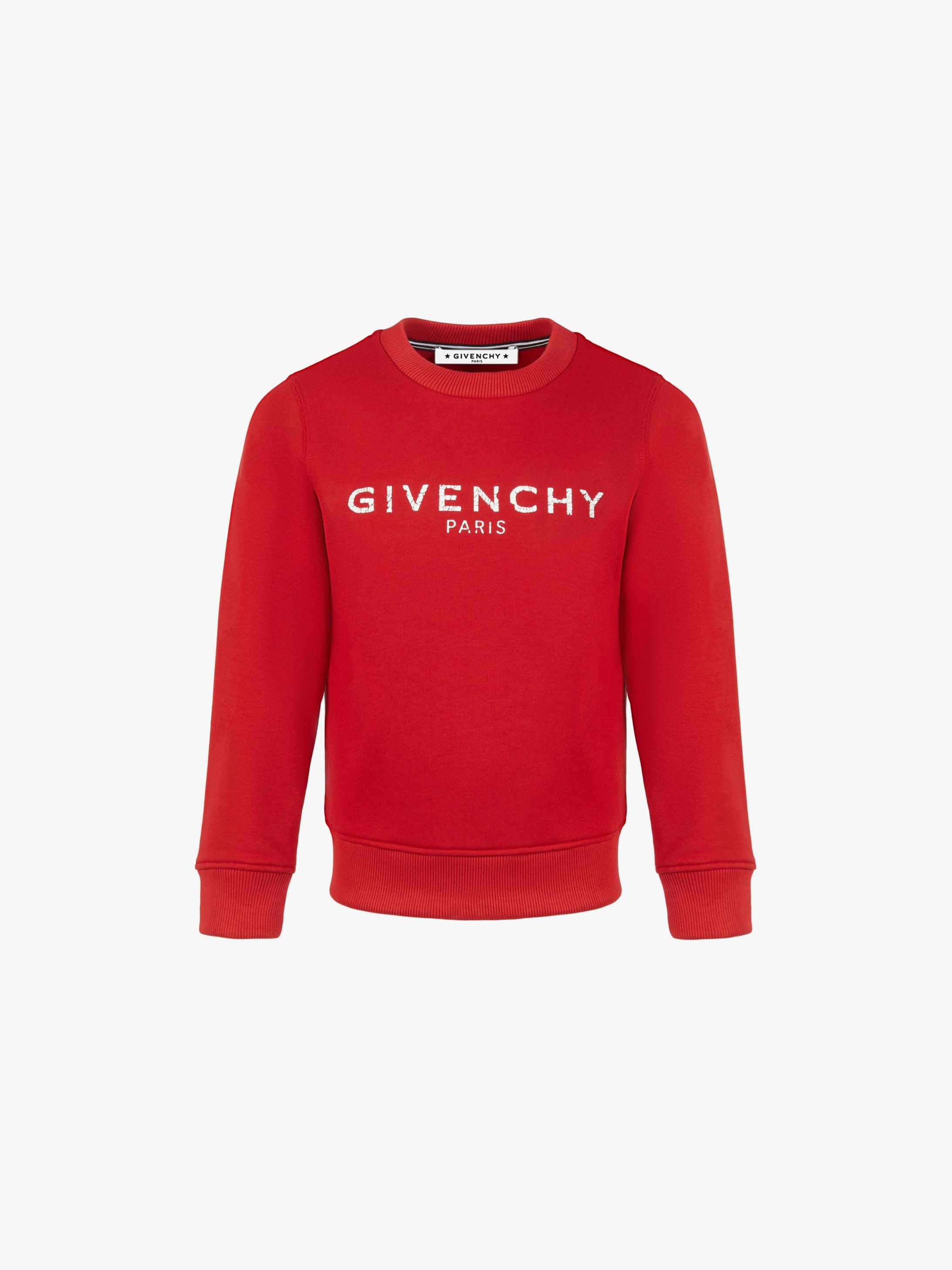 Sweatshirt en molleton GIVENCHY PARIS vintage