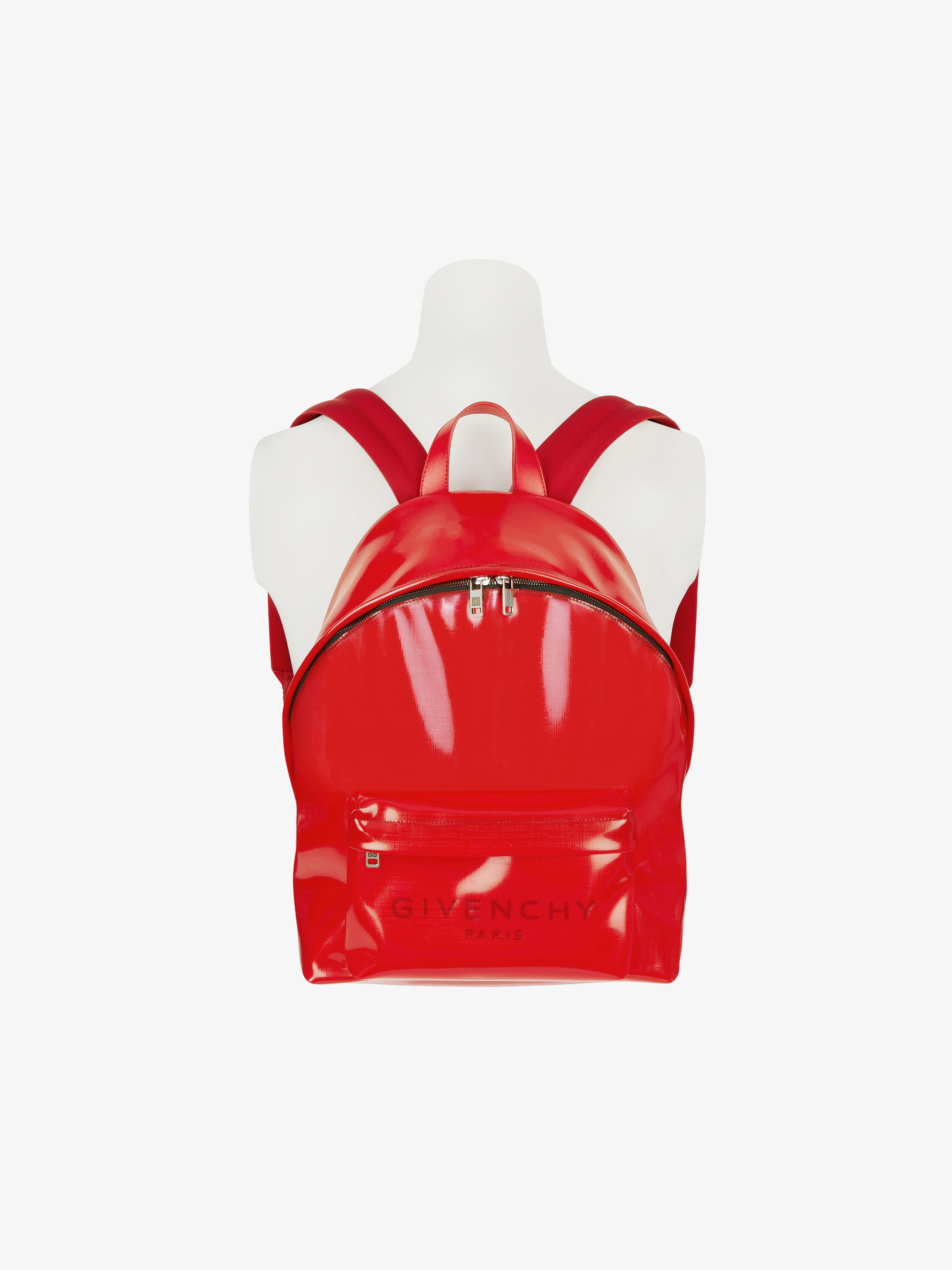 GIVENCHY backpack in transparent PVC