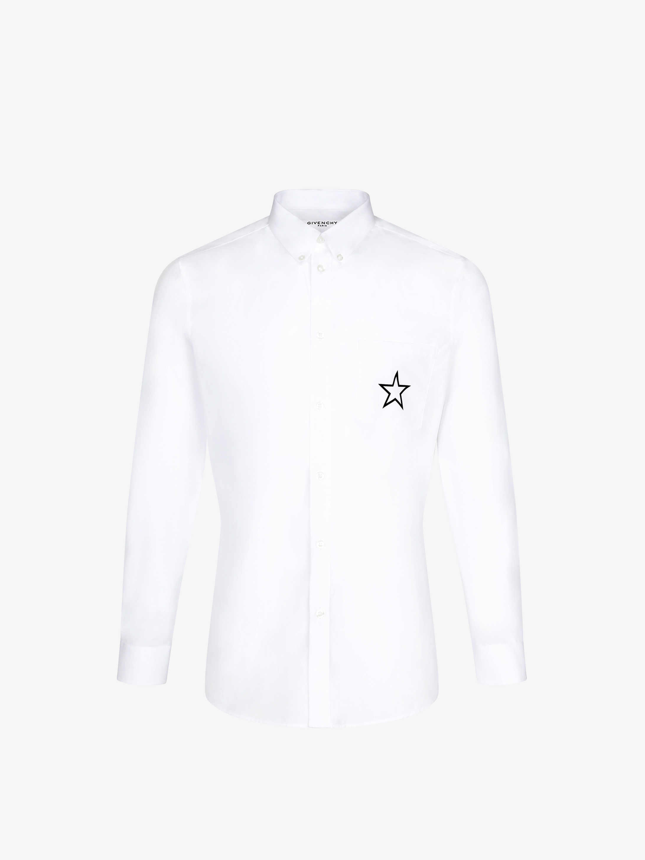 Contrasted stars shirt