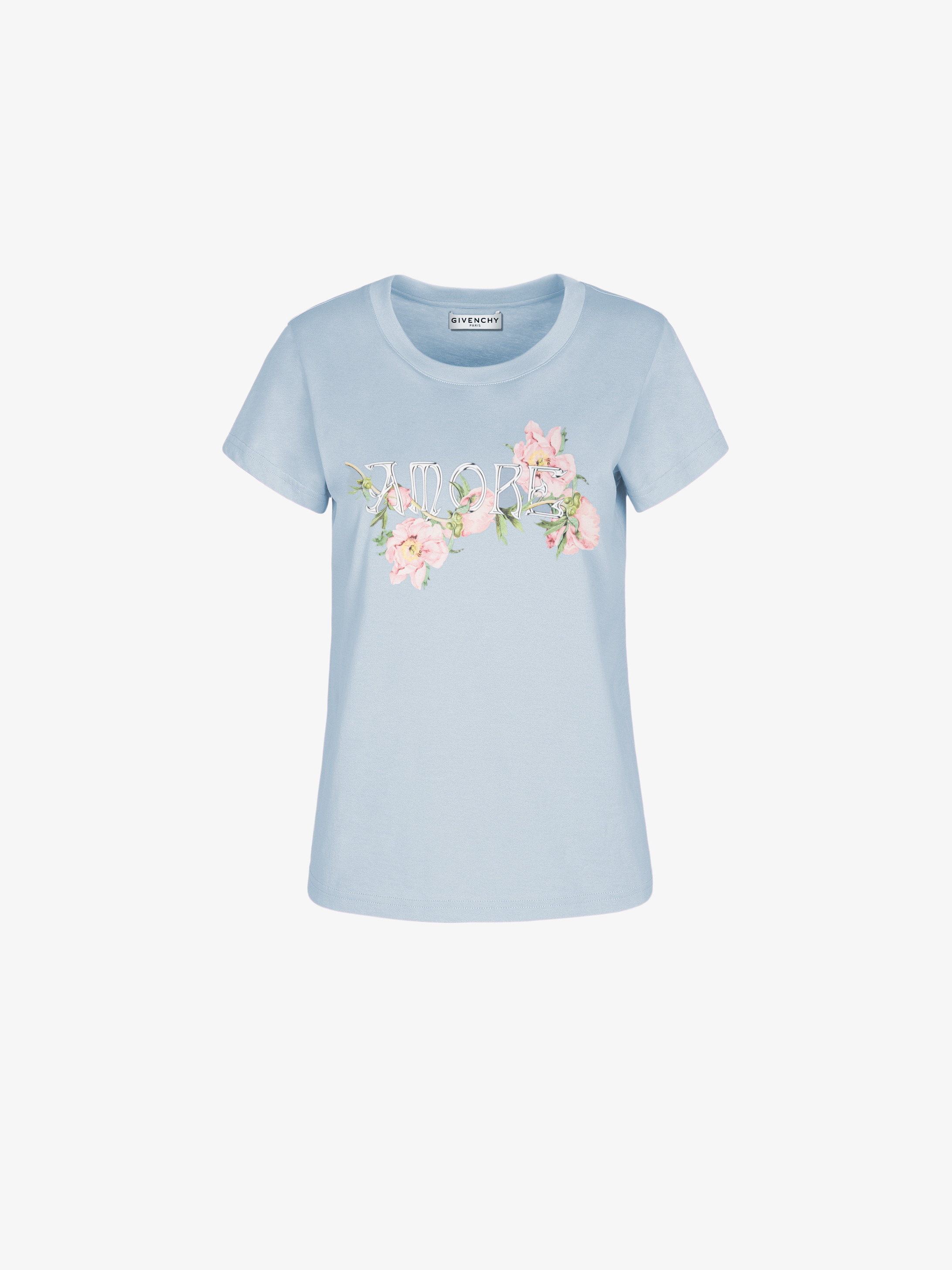 GIVENCHY Amore slim fit printed T-shirt