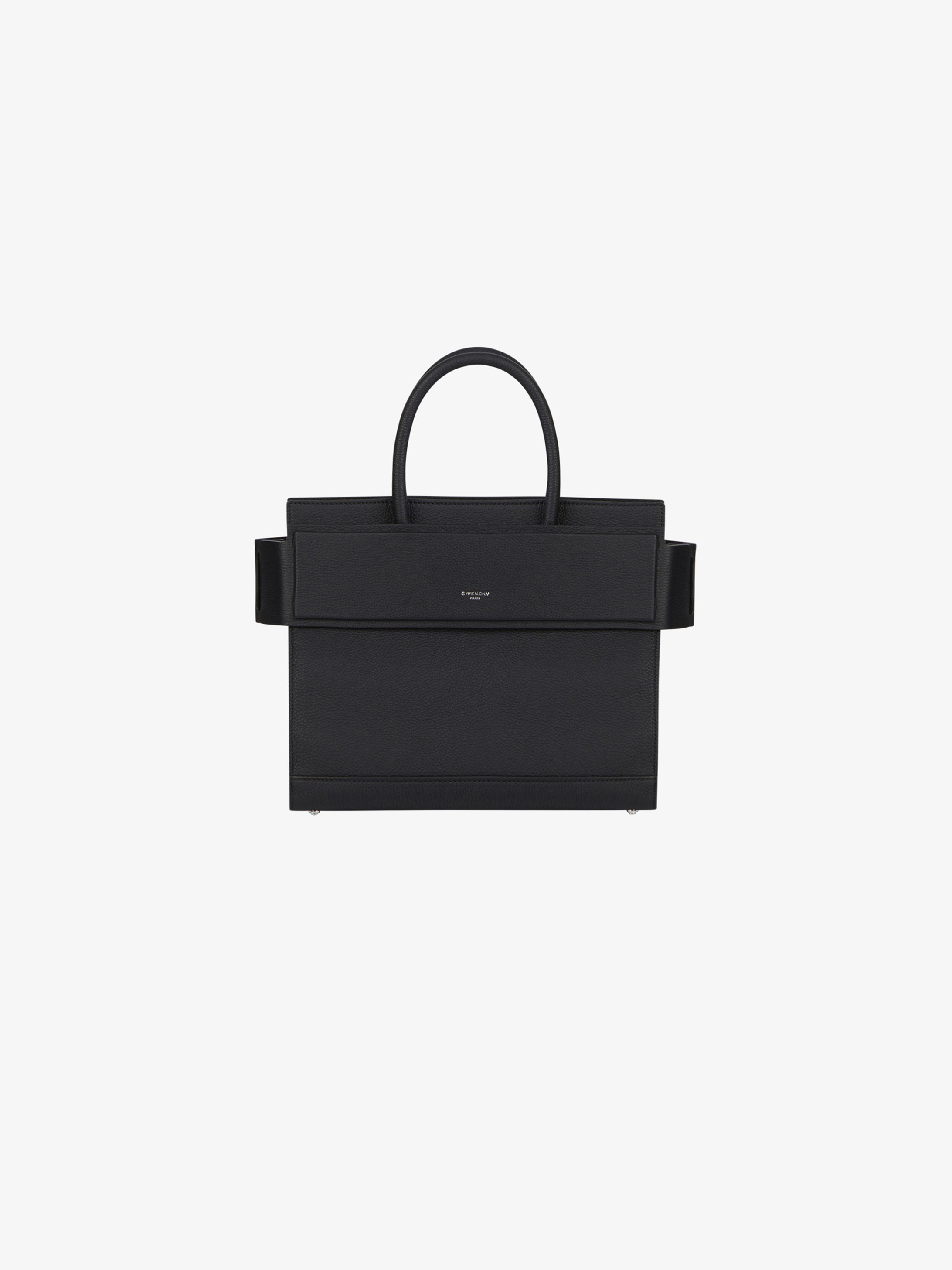 Small Horizon bag in grained leather